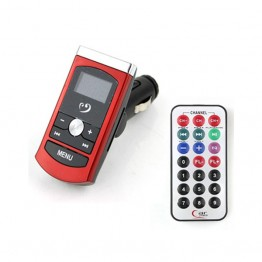 "MP3 Player Αυτοκινήτου με USB και Memory Card ""Car FM Transmitter"""