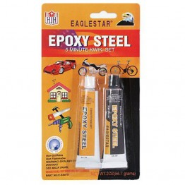 Eποξική κόλλα μετάλλων EPOXY STEEL QUICK SET 56.7gr