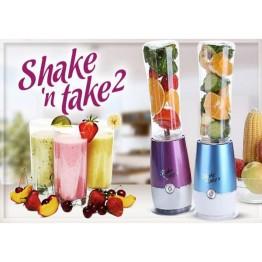 Μπουκάλι - Μπλέντερ για smoothies και χυμούς 180W-800ml Shake N Take 2 - Bottle Blender