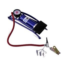 Μονή Τρόμπα Αέρος Ποδιού με Μανόμετρο 100 psi - 7 bar