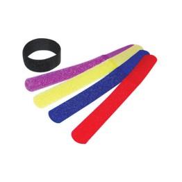 Δεματικό Καλωδίων Velcro Strap Χρωματιστοί τακτοποιητές