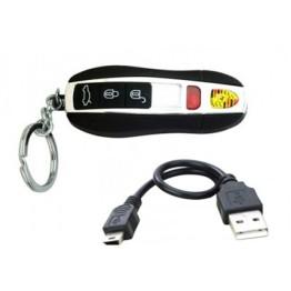 Αντιανεμικός Ηλεκτρονικός Αναπτήρας USB - Μπρελόκ Αυτοκινήτου