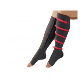 Κάλτσες συμπίεσης με φερμουάρ κατά της κούρασης - Zip Sox