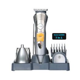 Επαναφορτιζόμενη Ξυριστική / Κουρευτική Μηχανή Kemei 7in1 Grooming Kit KM-580A