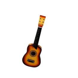 Ξύλινη Παιδική Κιθάρα 6 χορδών με 12 τάστα και μηχανισμό κουρδίσματος Με 12 Τάστα