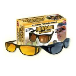 Γυαλιά Ηλίου Υψηλής Ευκρίνειας HD Vision Wrap Arounds - Σετ 2 τεμαχίων