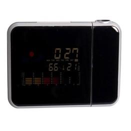 Ρολόι Προτζέκτορας - Μετεωρολογικός Σταθμός με Έγχρωμη Οθόνη WeltBild DS-8190