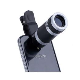 Σετ Φακών Κάμερας Κινητών με Τηλεφακό x8, FishEye, Wide & Macro - Universal Lens 4 in 1