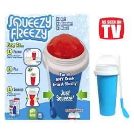 Παγωμένα Ροφήματα και Γρανίτες στο λεπτό - Squeezy Freezy