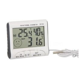Υγρασιόμετρο Ψηφιακό Εσωτερικού – Εξωτερικού Χώρου HUM-DC103