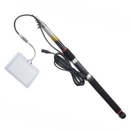 Τηλεσκοπικό φωτιστικό LED για ψάρεμα 12V με τηλεχειριστήριο