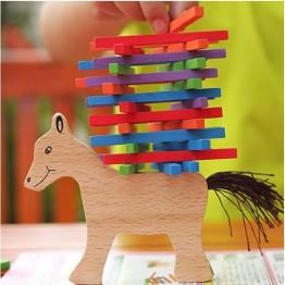 Εκπαιδευτικό Ξύλινο Παιχνίδι Δεξιοτήτων - Ο κυρ Μένιος