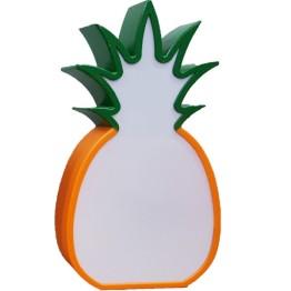 Φωτιζόμενος Διακοσμητικός Πίνακας LED Ανανάς - Pineapple Lightbox