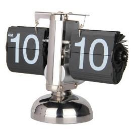 Ρετρό Επιτραπέζιο Ρολόι με Περιστρεφόμενα Ψηφία - Steampunk Clock