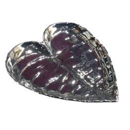 Διακοσμητικό Πιάτο για τα Κοσμήματα Φύλλο Καρδιά