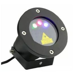 Νυχτερινός Λέιζερ Φωτισμός Τριπλής Δέσμης RGB