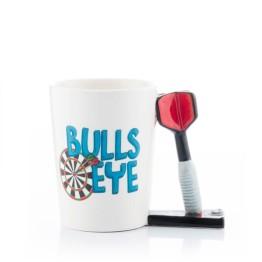 Κούπα με λαβή σε σχήμα Βελάκια - Darts Mug