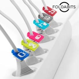 Αναγνωριστικά Καλωδιων Foldabits - Σετ των 6