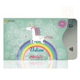 Θήκη Πιστωτικής Κάρτας Για Προστασία των Ανέπαφων Συναλλαγών RFID/NFC - Unicorn