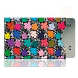 Θήκη Πιστωτικής Κάρτας Για Προστασία των Ανέπαφων Συναλλαγών RFID/NFC - Flowers