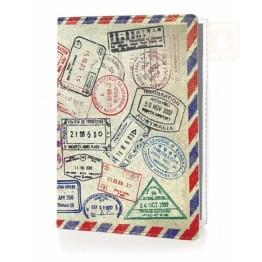 Θήκη Διαβατηρίου και Καρτών RIFD Προστασία - Stamps