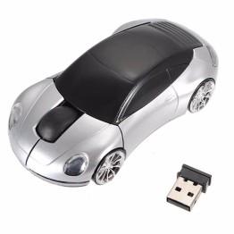 Ασύρματο USB Ποντίκι Αυτοκίνητο Porche 2.4GHZ με LED Φωτισμό