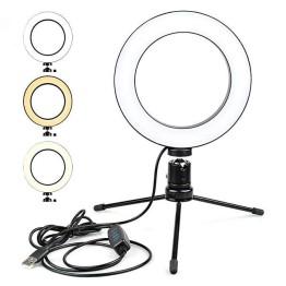 Επαγγελματικό Φωτογραφικό Φωτιστικό Δαχτυλίδι 26cm Ring Lamp Light LED