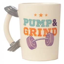 Κούπα με λαβή σε σχήμα Βαράκι - Dumbbell Mug