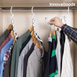 Οργανωτής για Κρεμάστρες για 40 Ενδύματα InnovaGoods (24 τεμάχια)