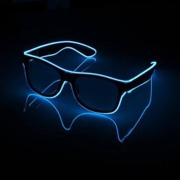 Γυαλιά με led φωτισμό για Πάρτυ Γαλάζιο