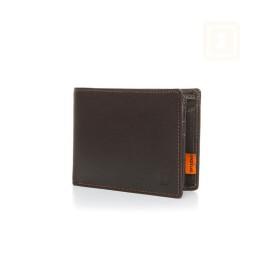 Δερμάτινο Πορτοφόλι με Προστασία RFID/NFC - Tom Black-Red