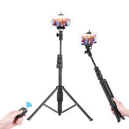 Πτυσσόμενο Μπαστούνι - Τρίποδο με Bluetooth Χειριστήριο - Wirelless Tripod Selfie Stick