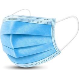 Χειρουργική Μάσκα Προστασίας μιας χρήσης Τριών Στρωμάτων 50τμχ