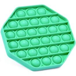Anti Stress Fidget Bubble Pop Αγχολυτικό Παιχνίδι Οκτάγωνο Πράσινο