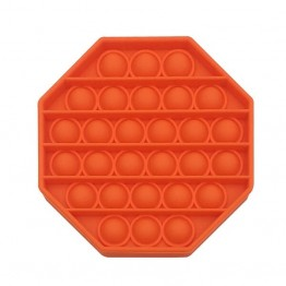 Anti Stress Fidget Bubble Pop Αγχολυτικό Παιχνίδι Οκτάγωνο Κόκκινο