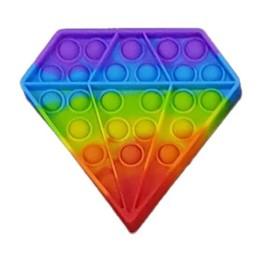 Anti Stress Fidget Pop it Αγχολυτικό Παιχνίδι Διαμάντι