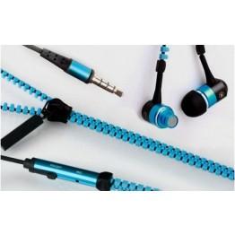 Ακουστικά Handsfree Φερμουάρ - Zipper Earphones with Mic Tymed AK11
