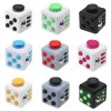 Anti Stress Fidget Cube Αγχολυτικός Κύβος - Παιχνίδι Ανακούφισης Στρες ABS
