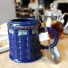 Κούπα Στρογγυλή σε σχήμα Βρετανικού Αστυνομικού Τηλεφωνικου Θαλάμου