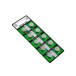 Αλκαλική Μπαταρία CELL  1,5V AG13 LR44 Σετ 10 Τεμαχίων