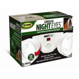 Διπλό Ασύρματο Φωτιστικό LED με Ανιχνευτή Κίνησης Night Eyes