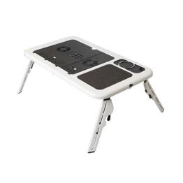 Αναδιπλούμενο Τραπεζάκι για Laptop με 2 Ανεμιστήρες Ψύξης LD09