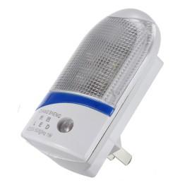 Φωτιστικό νυκτός LED 1W, ανάβει αυτόματα όταν σκοτεινιάσει