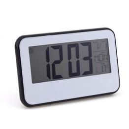 Ψηφιακό ρολόι με Αισθητήρα Ήχου και LCD Οθόνη - Voice Control Black Light Clock 2618