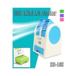 Mini Fan Φορητό Επιτραπέζιος Ανεμιστήρας-Air Cooler USB ΗΒ-168