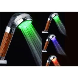 Τηλέφωνο Ντουζιέρας Spa με φωτισμό LED & Φίλτρο Αρνητικών Ιόντων