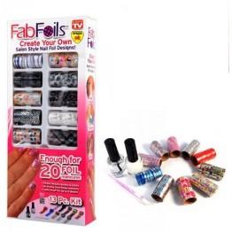 Σετ Διακόσμησης Νυχιών 13 τεμαχίων Fab Foils