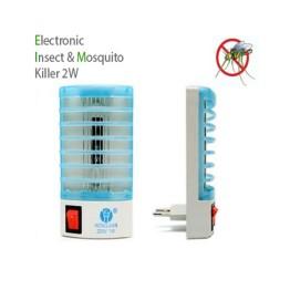 Mini Ηλεκτρικό Εντομοκτόνο LED 1W & φωτιστικό νυχτός