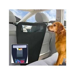 Χώρισμα με θήκες που κρατάει το σκύλο στο πίσω κάθισμα Pet Backseat Barrier