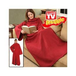 Κουβέρτα με Μανίκια Snuggle Super Soft Fleece